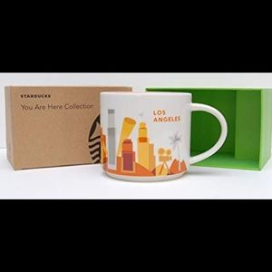 Starbucks Los Angeles mug ornament small Christmas